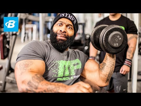 bodybuilding - More of CT's arm workout: http://bbcom.me/1ufqm06 CT Fletcher knows a thing or fifty about building monstrous biceps and triceps. Think you can hang? Get rea...