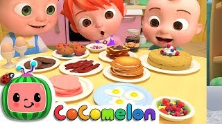 Breakfast Song | CoCoMelon Nursery Rhymes & Kids Songs