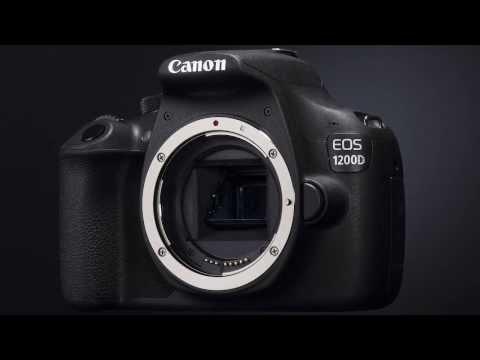 Uradna predstavitev Canon EOS 1200D