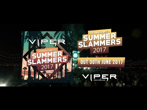 Drum & Bass Summer Slammers 2017 Album Megamix (Mixed by Dub Elements)
