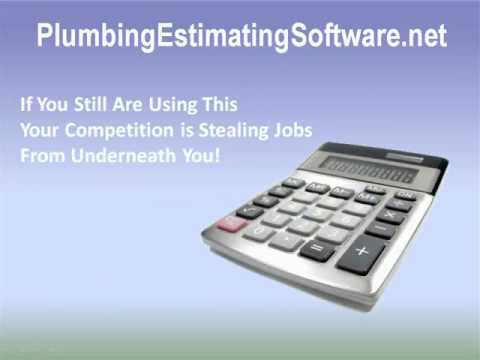Plumbing Estimating Software - Choose The Best Plumbing Est