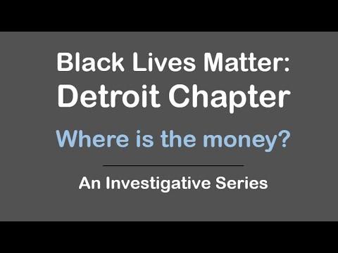 BLM Detroit - Where is the money?