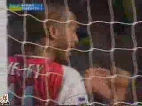 Goles con el Arsenal