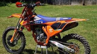 5. 2016 KTM 250sx-f Factory Edition | First Ride