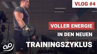 Trainings-Vlog #4 Trainingszyklus 3, Woche 1, Tag 3 Trainierte Muskeln: Rücken, Bizeps, Schulter Übungen: Weiter Latzug...