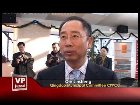 Oaspeţi chinezi la Camera de Comerţ