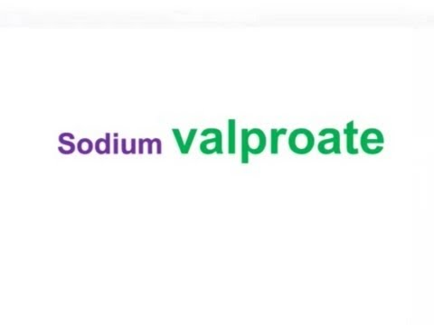 USMLE: Medical Video Lectures Pharmacology about Valproate by UsmleTeam
