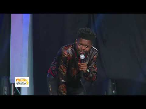Basketmouth Performance at Laugh Festival 2