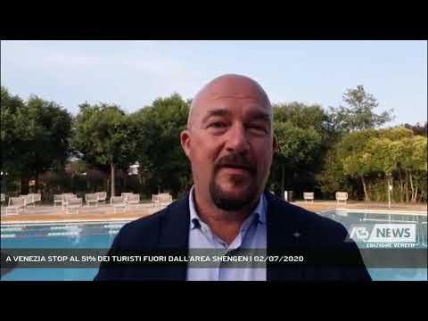 A VENEZIA STOP AL 51% DEI TURISTI FUORI DALL'AREA SHENGEN | 02/07/2020