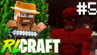 """NEVER GO INTO THE NETHER IN RLCRAFT"" 