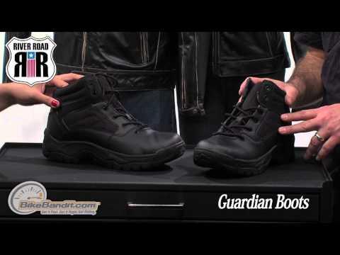 River Road Guardian Motorcycle Boots on BikeBandit.com