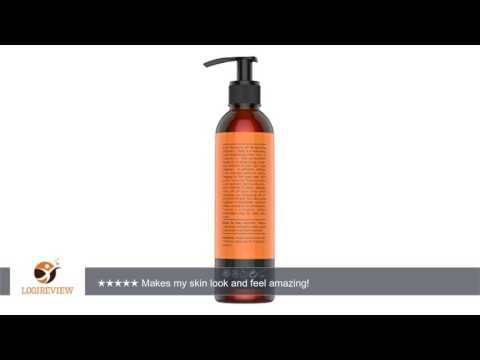 8oz Hydrating & Brightening VITAMIN C FACIAL TONER by Eve Hansen - Firms & Tones Skin with Natural