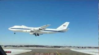 Lincoln (NE) United States  City pictures : USA 747 Touch and Go's at KLNK - Lincoln, Nebraska