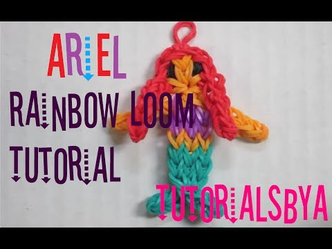 CORRUPTED VIDEO- DO NOT WATCH {Disney Princess Series} Ariel Rainbow Loom