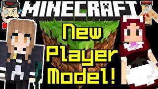 Minecraft News NEW STEVE MODEL! Skinny Steve?!
