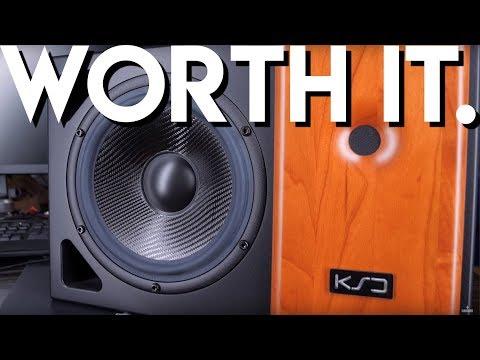 Loud and Clear: KS Digital ADM22 Studio Monitors видео