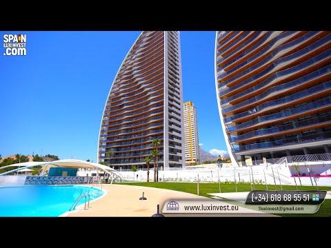 410000€+/200м до моря/Элитная недвижимость в Испании/Новые квартиры в Бенидорме/Новостройки/Испания