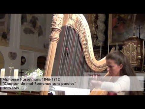 Alphonse Hasselmans – Chanson de mai-Romance sans paroles, Silke Aichhorn – Harfe / Harp