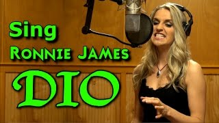 Gabriela Gunčíková - How To Sing In The Style Of Ronnie James Dio - Ken Tamplin Vocal Academy
