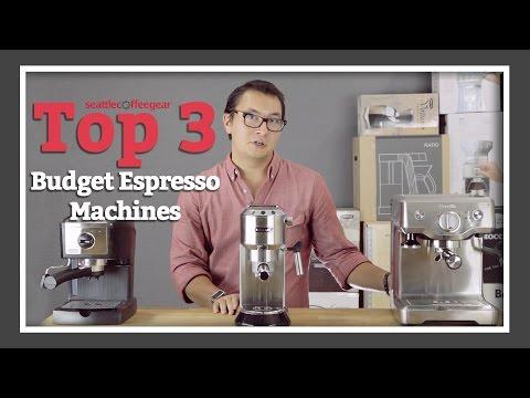 Top 3 Budget Espresso Machines | SCG's Top Picks