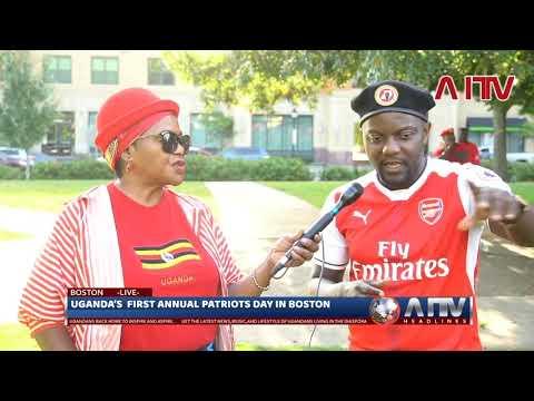 Semakula Musa who hosts the Semakula musa show talking to AITV.