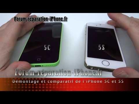 comment demonter un iphone 5 c