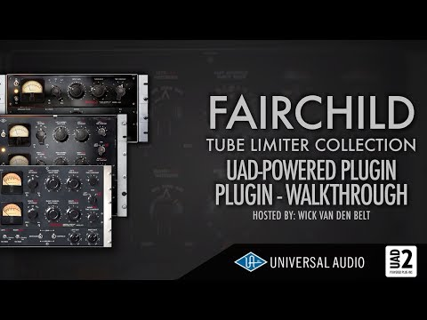 UAD - FairChild plugin collection walkthrough