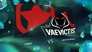 Gambit vs VeS, game 1