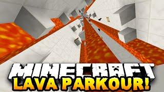 Minecraft LAVA PARKOUR! (Custom Parkour Map!) #4 w/PrestonPlayz