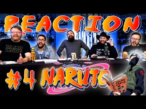 "Naruto #4 REACTION!! ""Pass or Fail: Survival Test"""