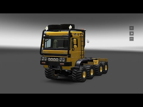 DAF crawler high lift v1.16