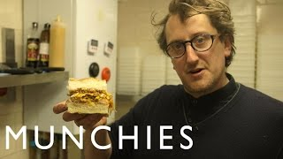 How-to: Make a Ham, Egg, and Chips Sandwich with Max Halley by Munchies