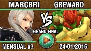 Afterlife 3 Grand Finals: Marcbri (Robin) vs. Greward (Bowser)