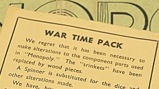 Unboxing a 1940's Monopoly