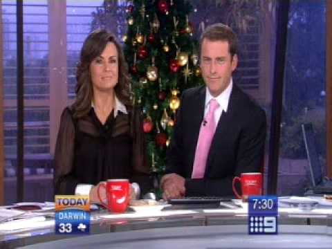 Karl and Lisa leave viewer in tears on Channel 9's Today Show ! Poor crying ...