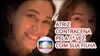 Notícias dos famosos - Lilia Cabral Contracena com a Filha pela 1ª Vez em Novela da Globo e se emociona!