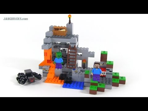 LEGO Minecraft: The Cave review! set 21113