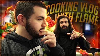 HOW I MEAL PREP + LIVE COD FINALS REACTION! with Flamesword! (VLOG)