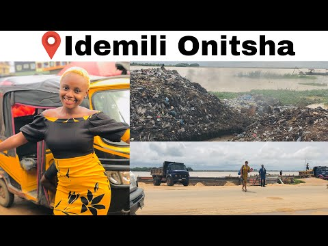 FIRST TIME IN ONITSHA ANAMBRA STATE| EXPLORE IDEMILI IN ONITSHA WITH ME #ONITSHA #IGBOYOUTUBER
