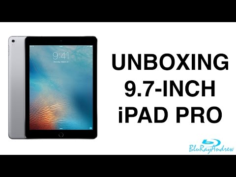 Unboxing 9.7-inch iPad Pro
