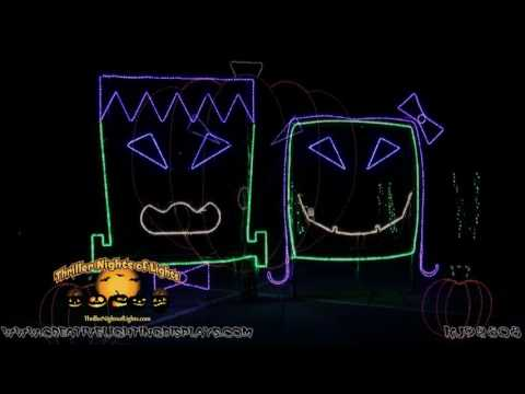 Halloween Light Show 2016 A Halloween Light Show Synchronized to Cody Simpson s Version of the Song I Want