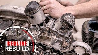 8. Harley-Davidson Sportster V-Twin Ironhead Engine Rebuild Time-Lapse | Redline Rebuild #6