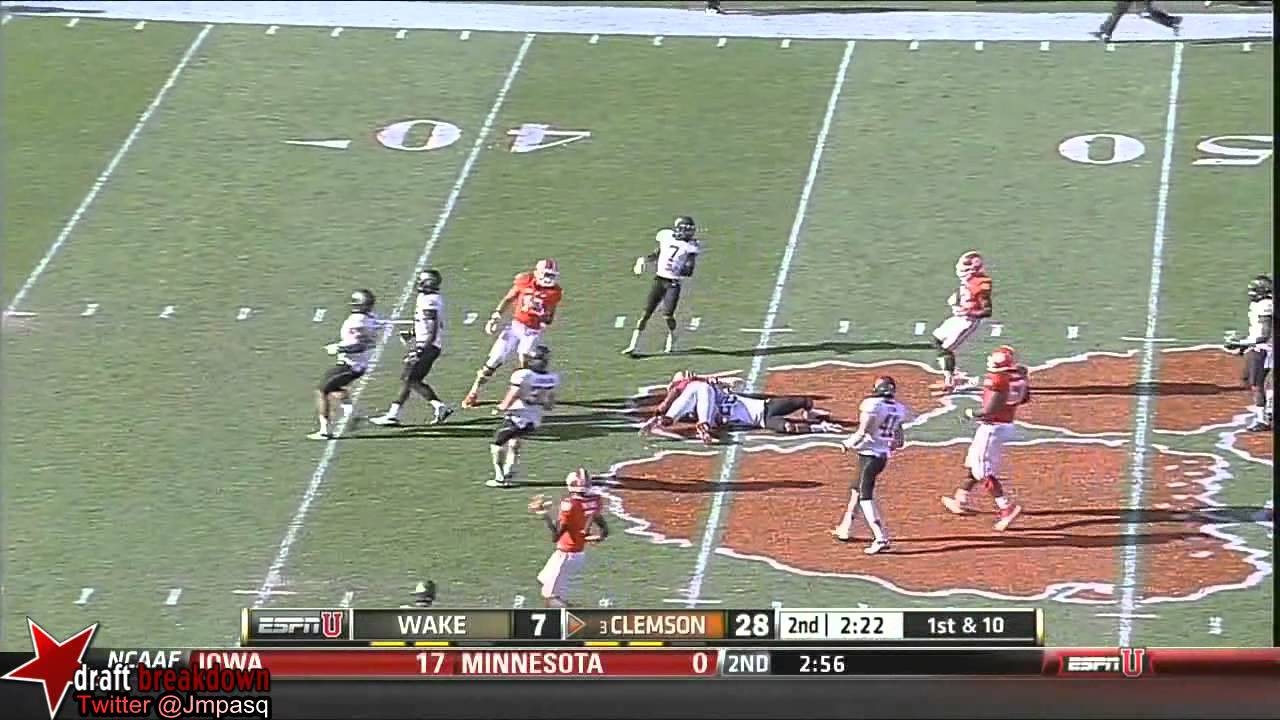 Tajh Boyd vs Wake Forest  (2013)