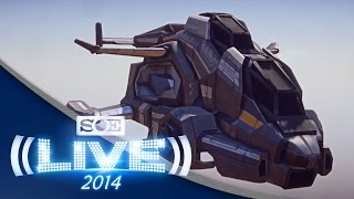 PlanetSide 2 Valkyrie, Leadership Rewards and Mission Systems | SOE Live 2014