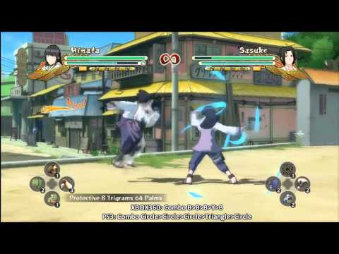 Naruto Shippuden UNS 3 Taijutsu Master 50-hit Combo Trophy/ Achievement