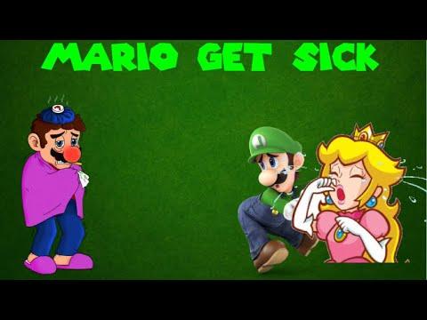 Mario Get Sick