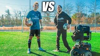 LANGUI VS DELANTERO09 - Retos de Fútbol Épicos
