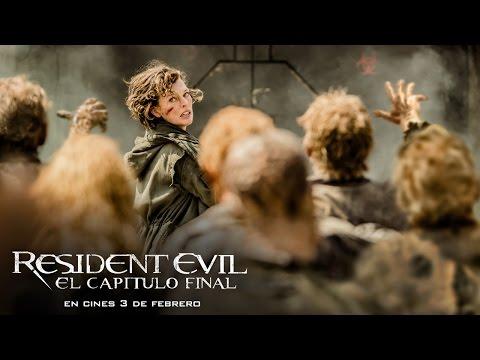 """Tráiler en español de """"Resident evil: El capítulo final"""""""