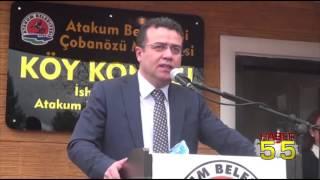 BAŞKAN TAŞÇI, ''KENDİ HAYALLERİMİZİN DEĞİL, ATAKUM HALKININ HAYALLERİNİN PEŞİNDEYİZ''