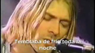 Nirvana - Where Did You Sleep Last Night (Live)